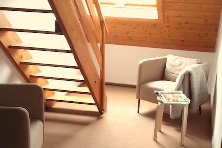 Schöne Dach Wohnung 5 Min Zentrum - Flat