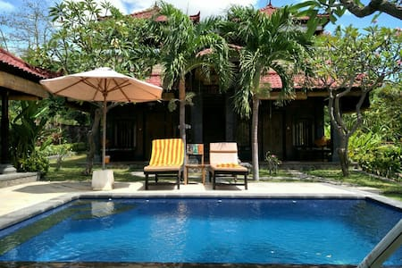 Lovely Villa With Roof Deck & Pool in Pemuteran - Villa