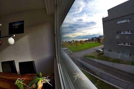 Your retreat - lakeview flat - Au ZH - Lejlighed