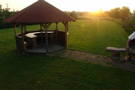 Druga z chatek za wsią - Czarny Dunajec