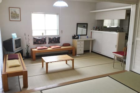 Tatami Suite Steps Away from Matsuyama Catsle - Étage entier