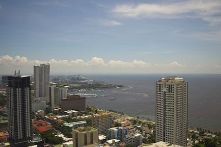 Amazing View On Manila Bay - Appartement