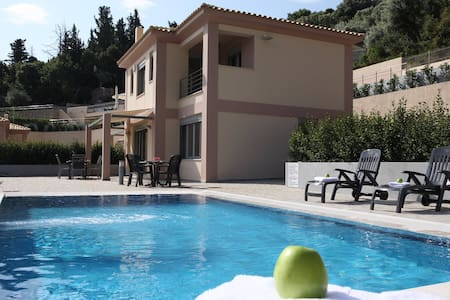 Villa Meliti with private pool in Lygia Lefkada - Lefkada