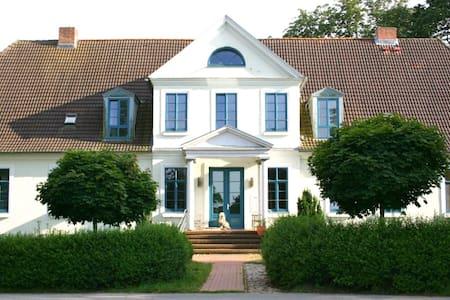 Gutshof Ilow   3 - Große Dachwohnung - Neuburg - Apartment