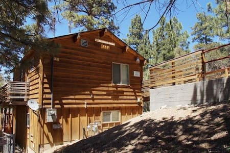 Harrison's Hanger -  Sweet log style property! - Big Bear