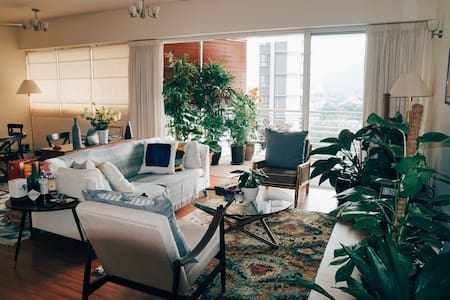 Large Stylish Apartment with Great View, KL - Kuala Lumpur - Wohnung