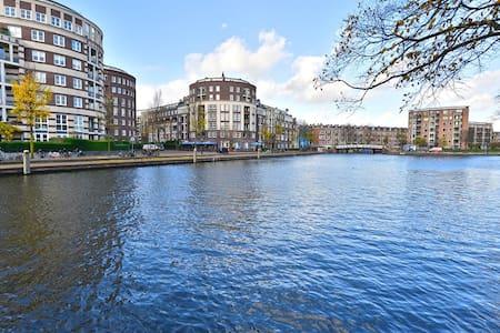 NEW: Bright apartment near Jordaan, FREE PARKING - Appartement
