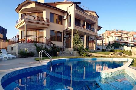 Luxury top-floor apartment