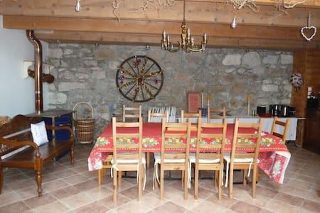 Grange restaurée et chaleureuse - Saint-Péray - Andere