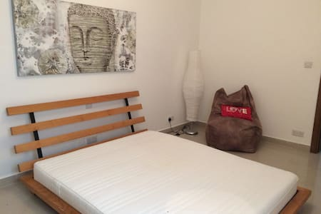 Double bedroom, Mosta, the heart of Malta - Apartment