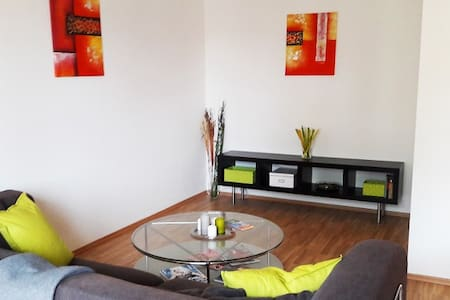 Quiet cozy apartment with balcony in business area - Byt