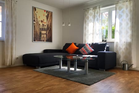 Luxury flat near Messe/ fair Munich - Daire