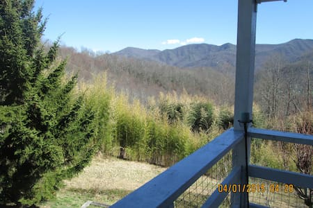 Owl Vacation Home-Incredible Views-Sleeps 7-Hottub - Maggie Valley - Ev