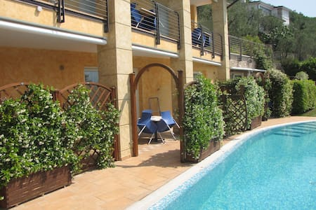 Studio am Pool mit Seeblick YEAH! - Brenzone sul Garda - Apartment