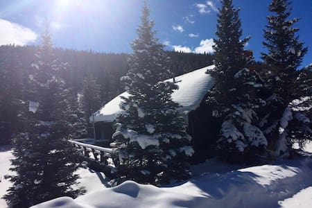 Private room in stream side cabin - Breckenridge - Cabaña