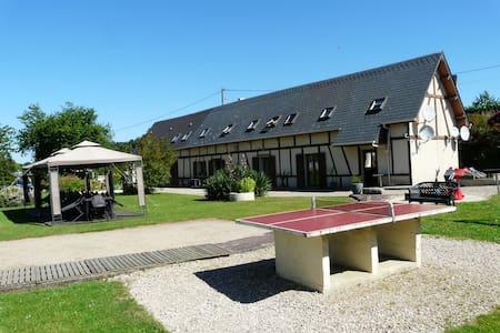 Gîte 12/14 personnes avec piscine chauffée - Criquetot-sur-Longueville - Dům