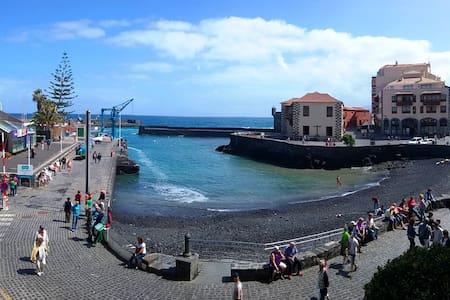 Balcony to the fishing harbour - Puerto de la Cruz