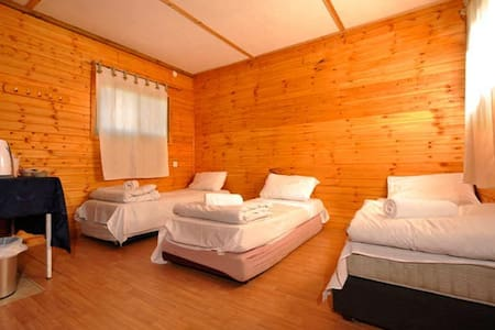 wooden hut's with the perfect view - Avnei Eitan - Bed & Breakfast