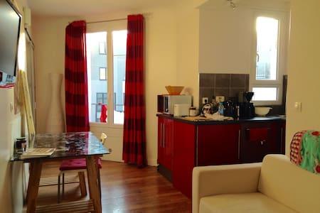 Wonderful flat in Paris center - Paris-13E-Arrondissement - Lägenhet