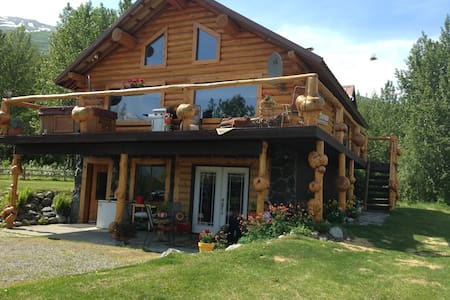 log home with spectacular views!! - Talo