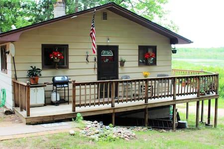 Cabin on Kawbawgam Lake in Marquette Michigan - Marquette - House