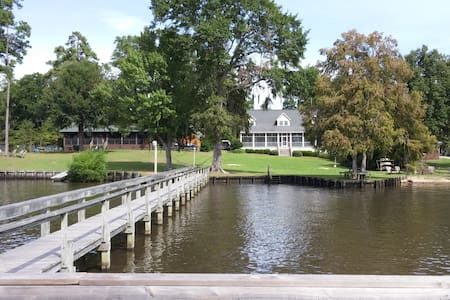 Large House on Lake Marion with Dock - Summerton - Maison