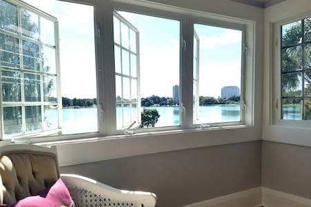 Downtown Lake House: Awesome view! - Lakeland - Μπανγκαλόου
