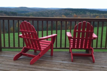 Upscale A-frame with panoramic view