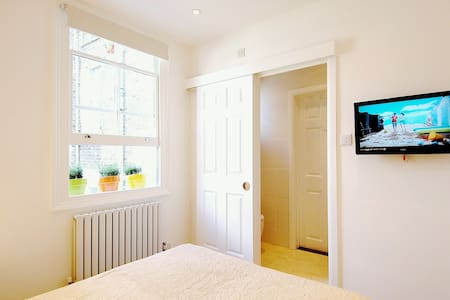 Bright Ensuite in Quiet Central Area - London - Apartment