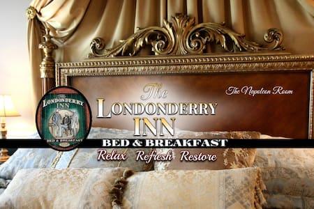 THE LONDONDERRY INN B&B's Napoleon Room - Szoba reggelivel