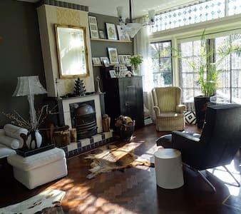 Room in City villa border of The Hague 2 persons - Voorburg