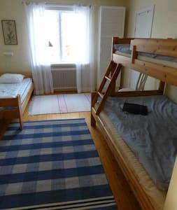 Gröna Ånäs rum 4, 3-bäddsrum. - Bed & Breakfast