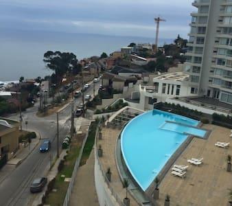 Confortable Departamento en Reñaca [Vista al Mar] - Reñaca