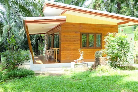 Bungalow near Hot Spring Waterfall - Khlong Thom Tai