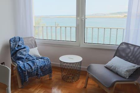 Precioso apartamento en Hondarribia vistas al mar - Hondarribia - Wohnung