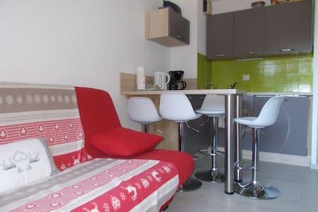 Studio avec alcove, rénové au pied des pistes - Saint-Agnan-en-Vercors - Wohnung