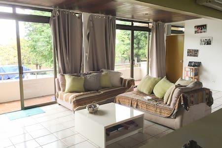 Bright and calm private bedroom in Papeete area - Leilighet