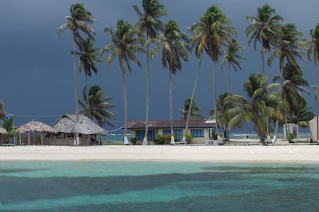 STAY ON ISLA PORVENIR IN SAN BLAS