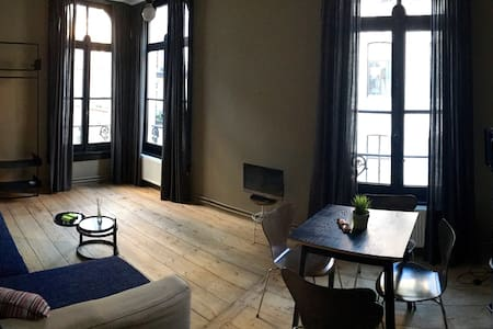 Very cosy apartment in Magnificent Building - Antwerpen - Condominium