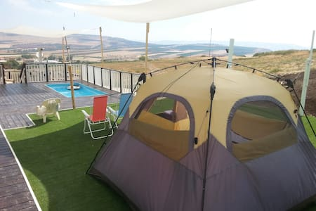 A tent in a special camping site - Yavne'el - Lakás