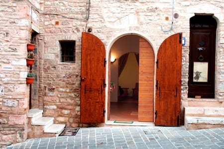 Great place in central Assisi - Assisi - Apartment