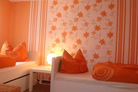 kleine gemütliche Ferienwohnung bei Eisenach - Apartemen