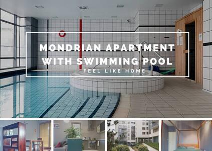 Mondrian Apartment & swimming pool - Byt