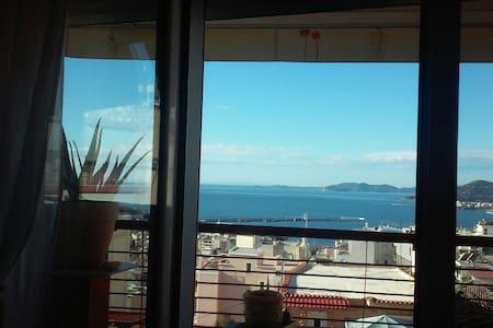 Όμορφη θέα στην πόλη - Καβάλα - Appartamento