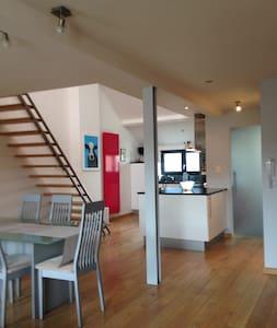 Modern duplex appartement nabij de jachthaven - Lakás
