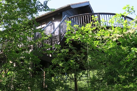 Cabane du Rouge-Gorge - Blockhütte