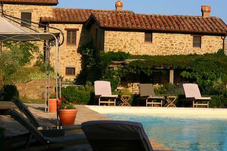 Umbria home, privacy  space  comfort - Monte Santa Maria Tiberina - Villa