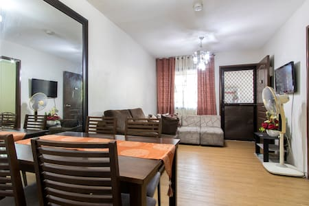 Cozy 2br Condo near LRT2 Santolan - Pasig City - Appartement