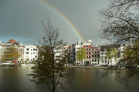 Centre Amsterdam: apartment with stunning view - Amsterdam