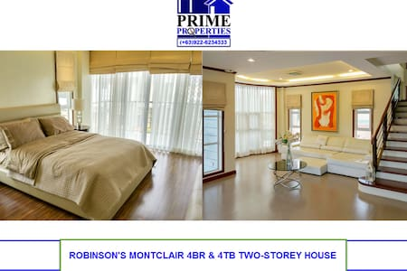 Chic and Big 4BR/4TB Modern House in Davao - Davao City - Haus